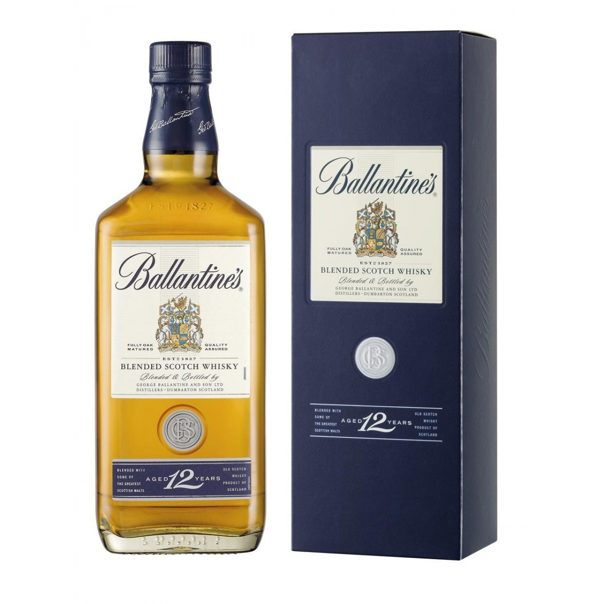 9-Ballantine's Finest Whisky 12 Y.O.