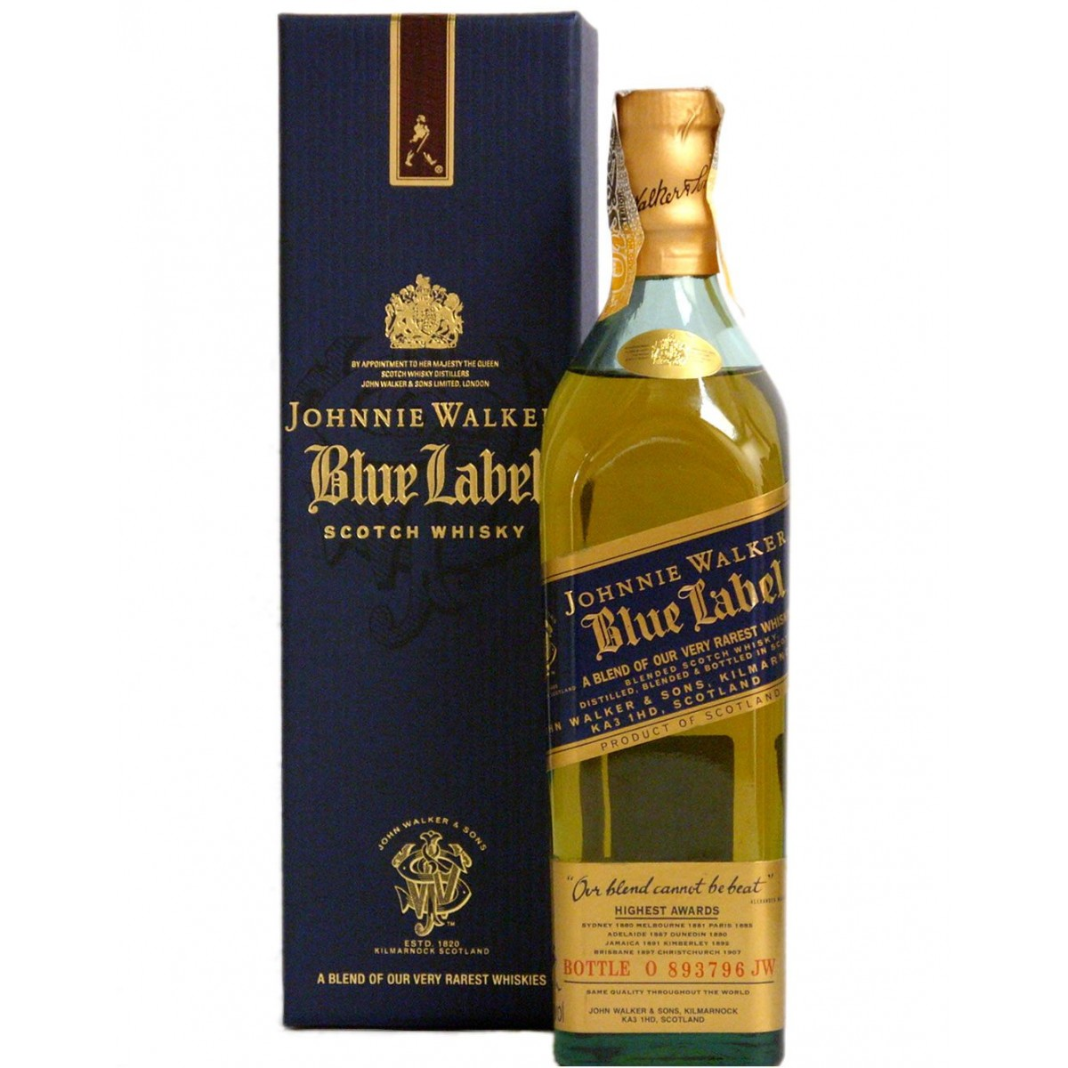 9-Johnnie Walker Blue Label