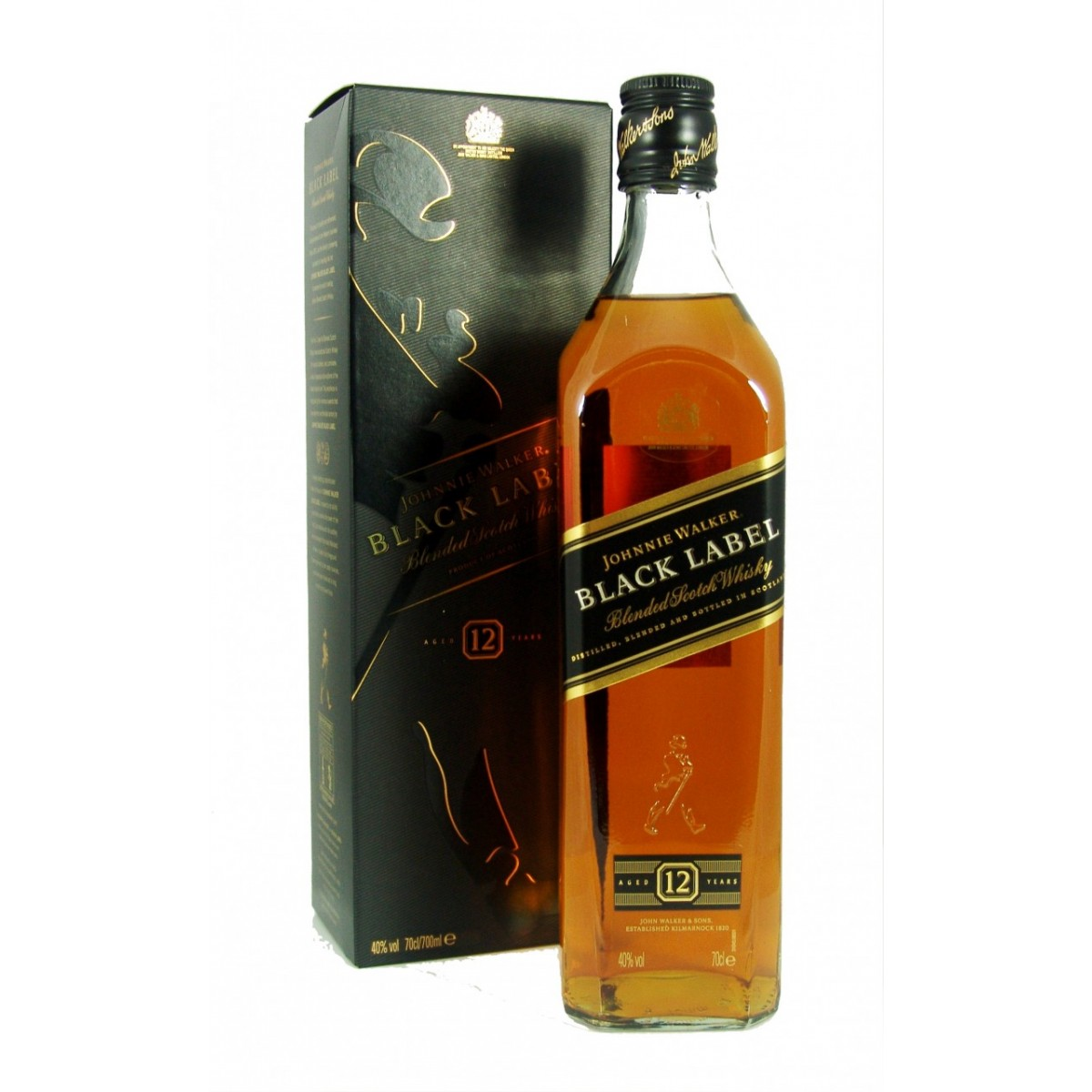 9-Johnnie Walker Black Label