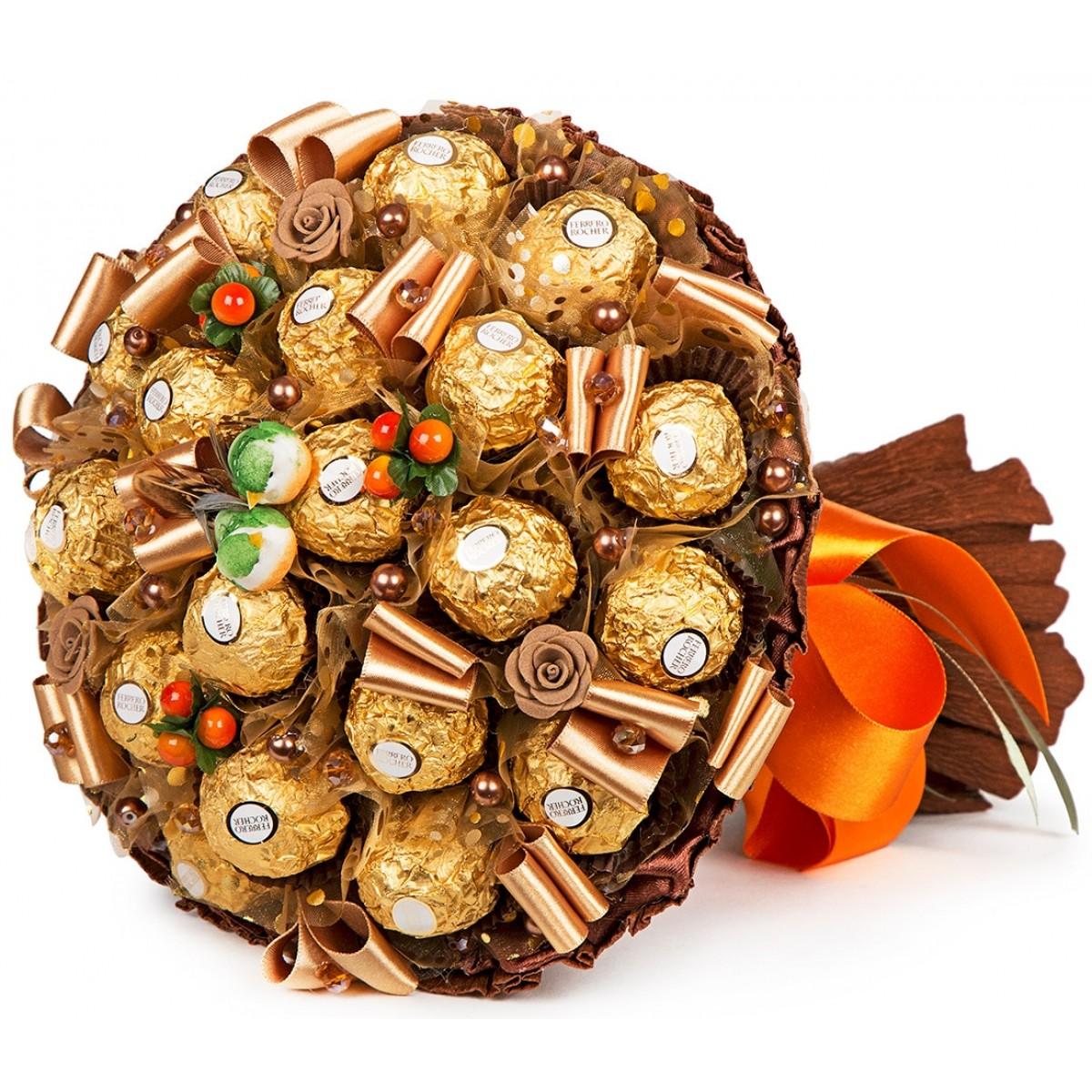"""Букет """" Шоколадов """" (20x25 см)"""