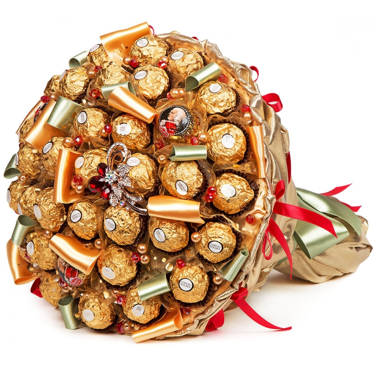 "Букет ""Оскар"" (30x35 см) от шоколадови бонбони"