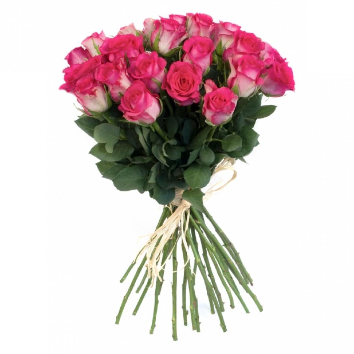 Букет от 11 до 15 розови рози (ти избираш броя)