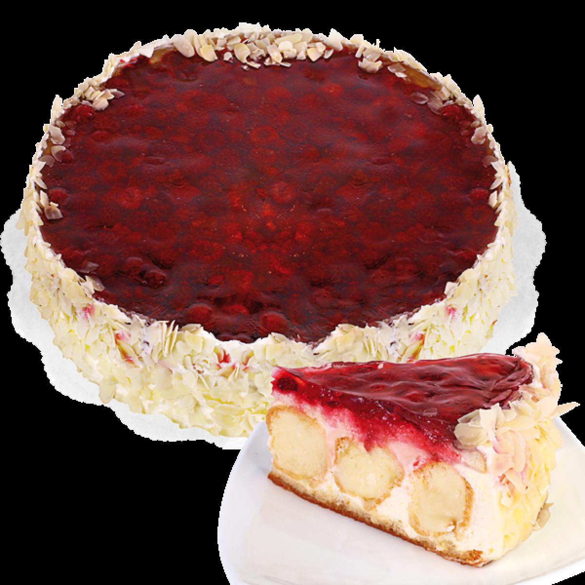 Торта Еклерова Малина