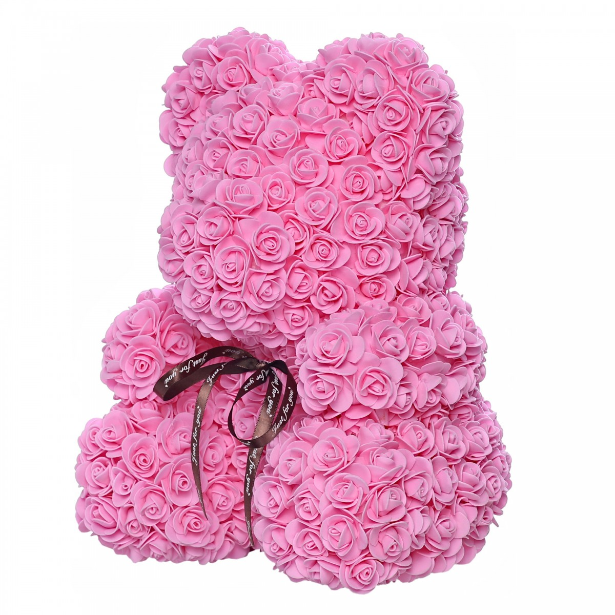 Teddy Rose Mid (Бонбонено розово) - мече от рози