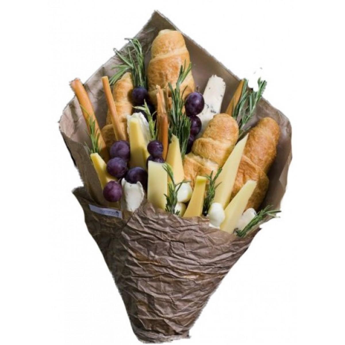 """Букет """"Сирена,хлебчета,грозде и розмарин"""""""