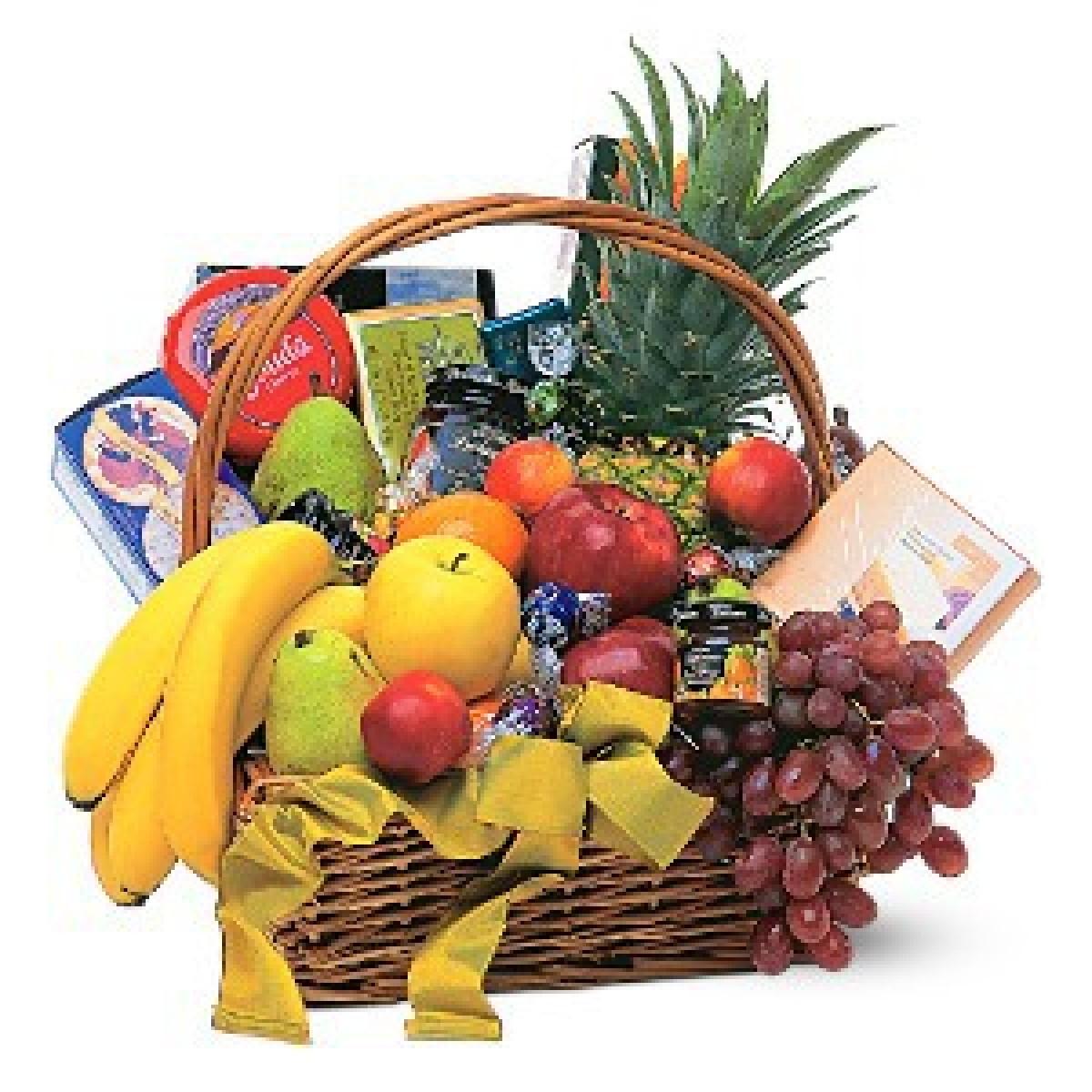 Кошница Класик Плодове , Сирена и Шоколад