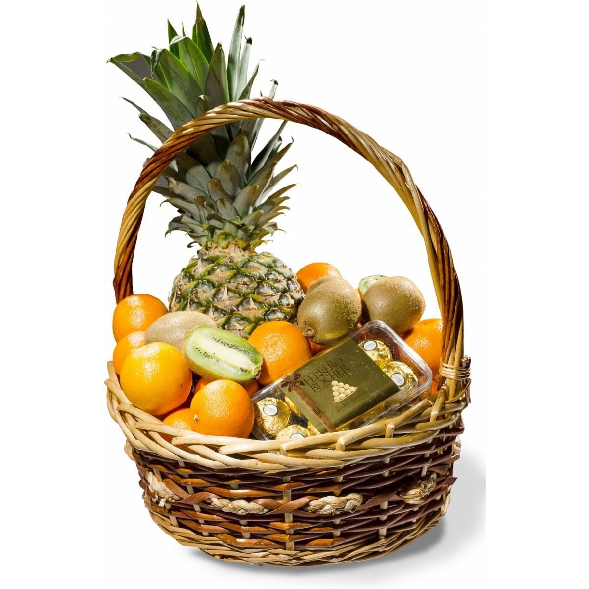 Кошница с плодове Ананас Фереро