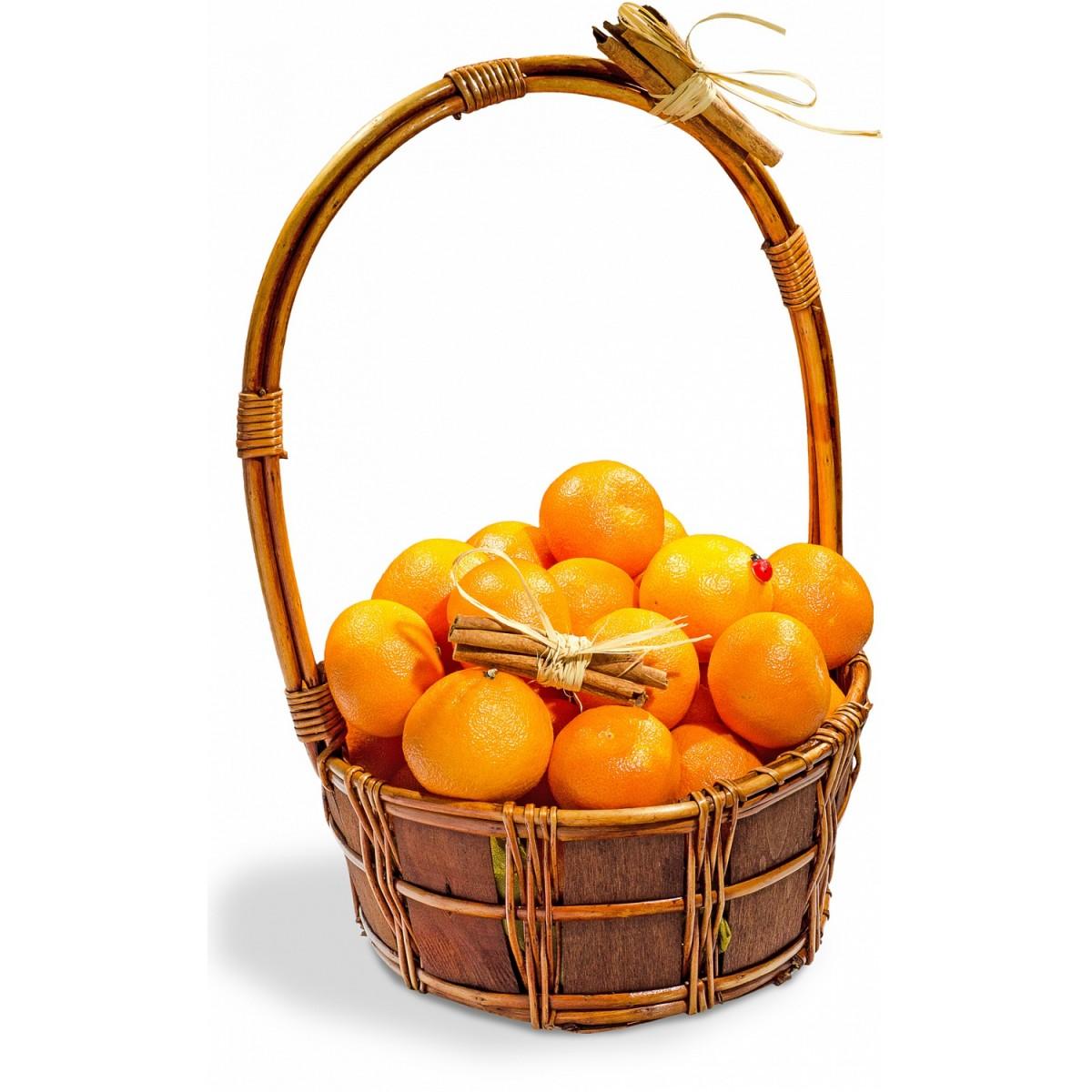 Кошница с плодове Мандаринов рай