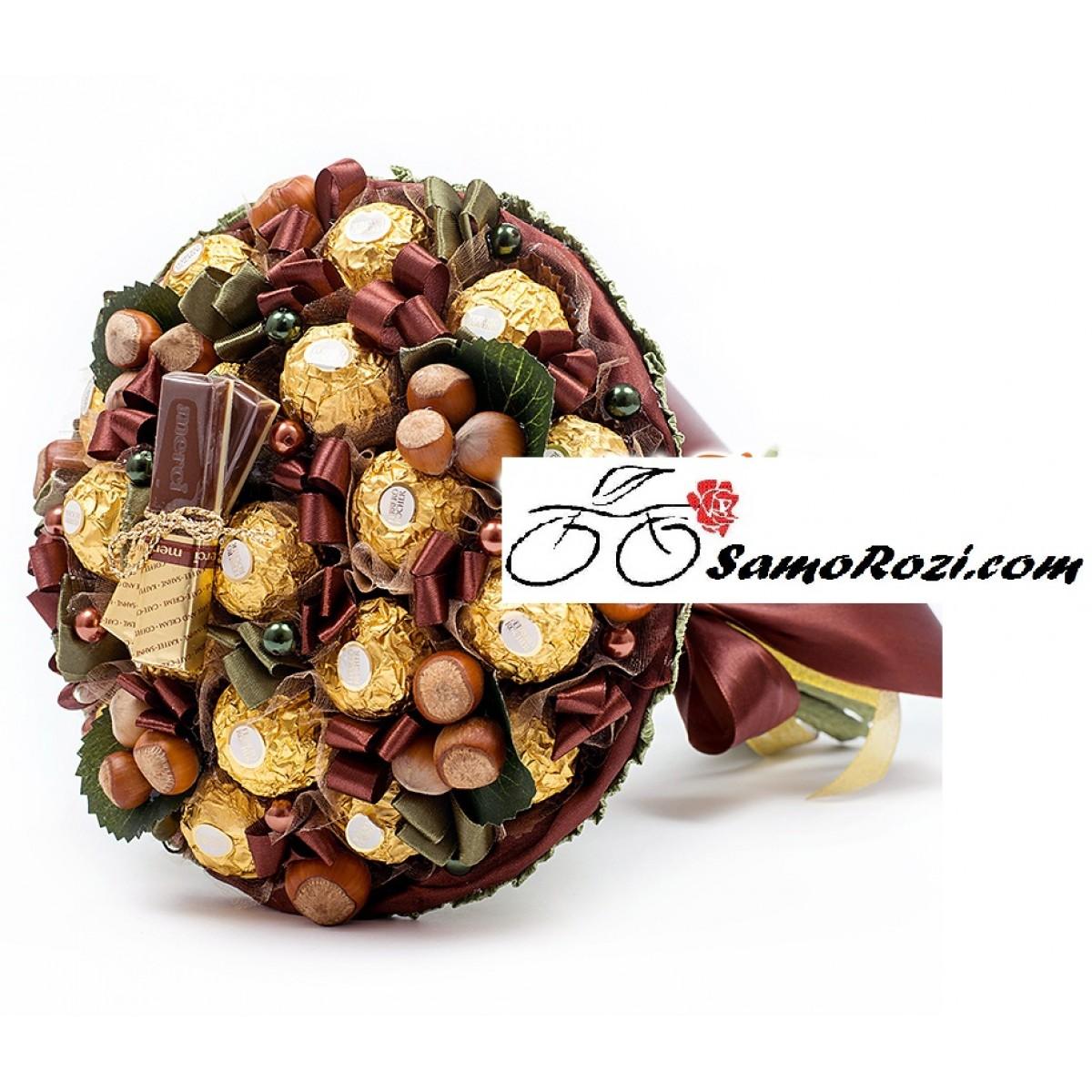 "Букет "" Шоколадови бонбони "" №1"